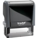 Оснастка для штампа Trodat 4913, 58х22 мм, пластик, серый