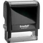 Оснастка для штампа Trodat 4913, 58х22 мм, пластик, черный