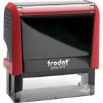 Оснастка для штампа Trodat 4915, 70х25 мм, пластик, красный