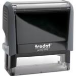 Оснастка для штампа Trodat 4915, 70х25 мм, пластик, серый