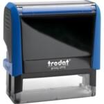 Оснастка для штампа Trodat 4915, 70х25 мм, пластик, синий