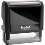Оснастка для штампа Trodat 4915, 70х25 мм, пластик, черный