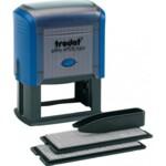 Самонаборный штамп 7-ми строчный Trodat Printy 4928, лат, синий