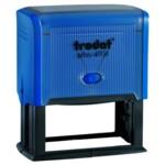 Оснастка для штампа Trodat 4931, 70х30 мм, пластик, синий
