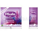 Бумажные полотенца Plushe, 2 слоя, 2рул.