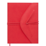 Ежедневник датированный 2021 Buromax Bella А5 с обложкой из искусственной кожи 336 с. Коралловый (BM.2132-27)