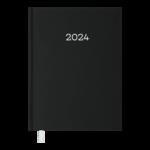 Ежедневник датированный 2022 Buromax MONOCHROME А5 черный 336 с (BM.2160-01)