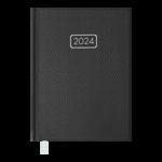 Ежедневник датированный 2022 Buromax VELVET А5 черный 336 с (BM.2163-01)