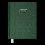 Ежедневник датированный 2021 Buromax Velvet A5 336 с. Зеленый (BM.2163-04)