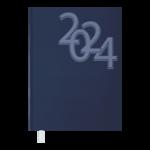 Ежедневник датированный 2021 Buromax Office А5 336 с. Синий (BM.2164-02)