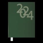 Ежедневник датированный 2021 Buromax Office А5 336 с. Зеленый (BM.2164-04)