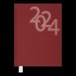 Ежедневник датированный 2021 Buromax Office А5 336 с. Красный (BM.2164-05)