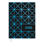 Ежедневник датированный 2021 Buromax Linea А5 336 с. Синий (BM.2151-02)