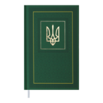 Ежедневник датированный 2022 Buromax NATIONА6 зеленый 336 с (BM.2524-04)