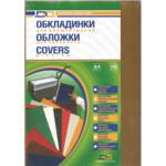 Обложки пластиковые D&A, прозрач, желтый, А4, 180 мкн, 100 шт (1220102020500)