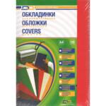 Обложки картонные D&A Chromolux Gloss глянец, красный, А4, 250г/м2, 100 шт (1220101010500)
