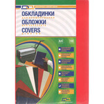 Обложки картонные D&A Chromolux Gloss глянец, ассорти 5 цв, А4, 250г/м2, 100 шт (1220101011100)