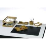 Набор настольный деревянный Bestar, 8 предметов, орех (8228FDW)