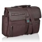 Портфель Piquadro Signo D.Brown на два отделения со съемным чехлом для ноутбука (CA1045SI_TM)