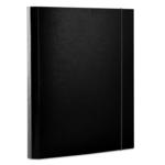 Папка картонная на резинке Donau, А4, 40 мм, черный (2076001PL-01)