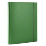 Папка картонная на резинке Donau, А4, 40 мм, зеленый (2076001PL-06)