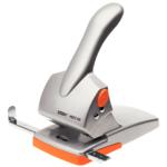 Дырокол Rapid HDC 65 листов серебряный/оранжевый (20922603)