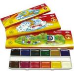 Краски акварельные Гамма Мультики 211046, 6 цветов