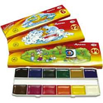 Краски акварельные Гамма Мультики 211048, 12 цветов