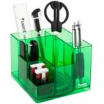 Набор настольный Axent Cube 2106-09-A, 9 предметов, в картонной коробке, салатовый