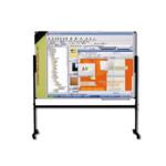 Маркерная интерактивная доска ABC Office 120 х 180 см, на подставке, алюминиевая рама