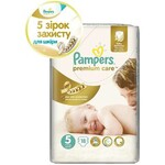 Подгузники Pampers Premium Care Размер 5 (Junior) 11-18 кг, 18 шт (4015400740728)