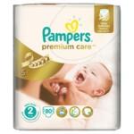 Подгузники Pampers Premium Care New Born Размер 2 (Для новорожденных) 3-6 кг, 80 шт (4015400741633)