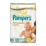 Подгузники Pampers Premium Care Размер 3 (Midi) 5-9 кг, 60 шт (4015400274780)