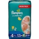 Подгузники Pampers Active Baby-Dry Размер 4 (Maxi) 8-14 кг, 13 шт (4015400647546)