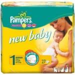 Подгузники Pampers New Baby-Dry Размер 1 (Для новорожденных) 2-5 кг, 27 шт (4015400264453)