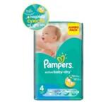 Подгузники Pampers Active Baby-Dry Размер 4 (Maxi) 8-14 кг, 70 шт (4015400244769)
