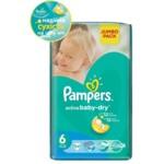 Подгузники Pampers Active Baby-Dry Размер 6 (Extra large) 15+ кг 54 шт (4015400244875)