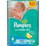 Подгузники Pampers Active Baby-Dry Размер 4 (Maxi) 8-14 кг, 76 шт (4015400736271)