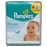 Детские влажные салфетки Pampers Fresh Clean Quatro, 256 шт (4015400622734)