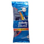 Бритвы одноразовые Gillette Blue 2 Plus (5 шт) (3014260283254)
