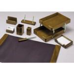Набор настольный деревянный Bestar, 9 предметов, орех (9280WDN)