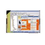 Маркерная интерактивная доска ABC Office 120 х 180 см, настенная, алюминиевая рама