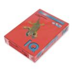 Цветная бумага IQ Intensiv ZR09, Brick Red (красный), А4, 80 г/м2, 500 л