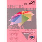 Цветная бумага Spectra Color, Rose 140 (св.розовый), А4, 80г/м2, 100л