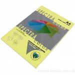 Цветная бумага Spectra Color, Yellow 160 (желтый), А4, 80г/м2, 100л