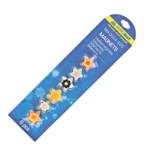 Комплект магнитов Buromax Цветы, 6шт, 25мм