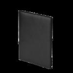 Папка из искусственной кожи Buromax Conference, черная, 31,5 х 25 х 1,5 см