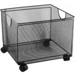 Ящик для подвесных файлов Buromax, 380x365x265мм, металлический, черный