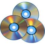 Диск DVD+RW, 4.7Gb, 4х, Cake (10), Silver