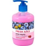 Крем-мыло Fresh Juice Blueberry&Raspberry, 460 мл